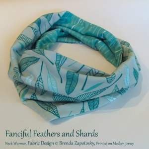 Fanciful Feathers Scarf Online Promo