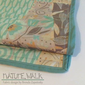 Nature Walk Table Runner by Brenda Zapotosky 1