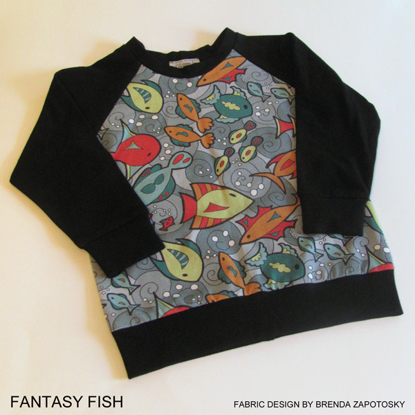 fantasy-fish-raglan-tee-by-brenda-zapotosky-with-words