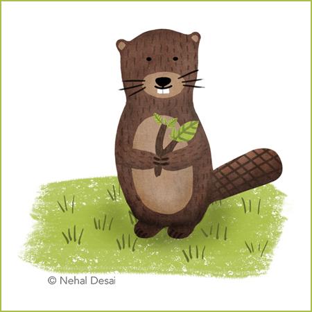 Beaver by Nehal Desai small