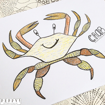 Crab by peppypattern small