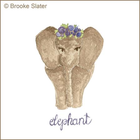 Elephant by Brooke Slater small