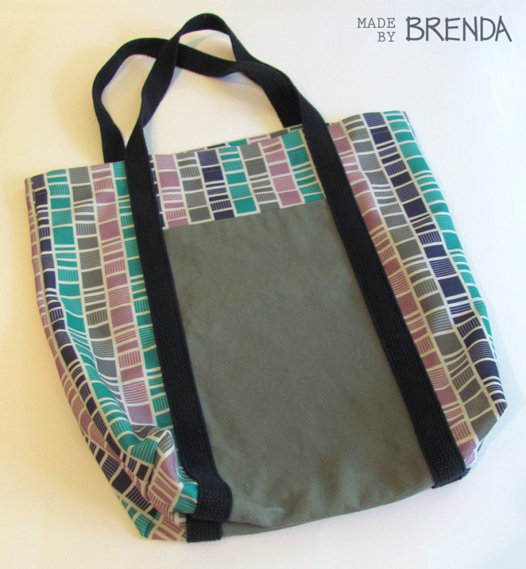 Railroad Tote by Brenda Zapotosky for Blog