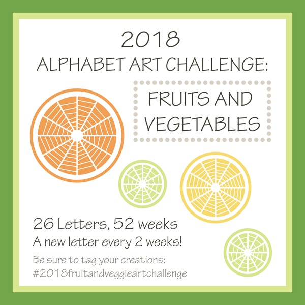 2018 Alphabet Art Challenge Announcement by Brenda Zapotosky