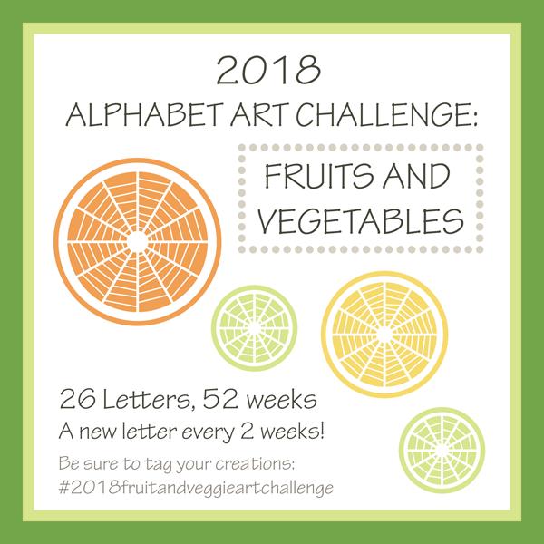 2018 Alphabet Art Challenge Announcement by Brenda Zapotosky