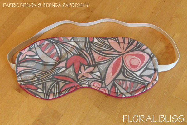 Floral Bliss Eye Mask by Brenda Zapotosky