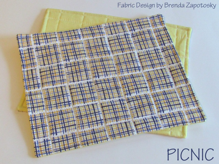 Picnic Trivets by Brenda Zapotosky