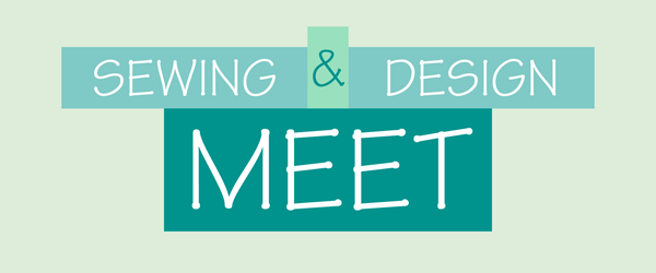 Sewing and Design Meet Logo