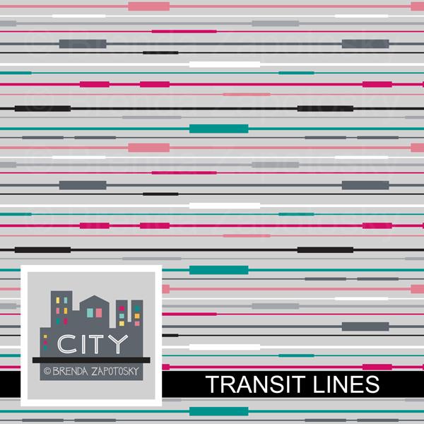 Transit Lines by Brenda Zapotosky