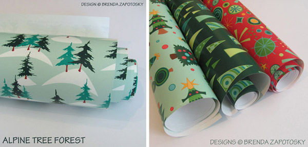 Christmas Gift Wrap by Brenda Zapotosky Web