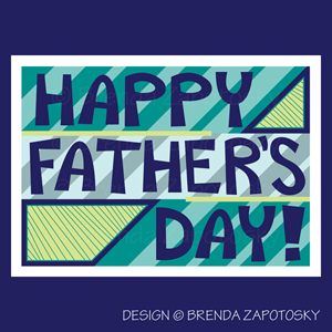 Fathers Day Card by Brenda Zapotosky Web