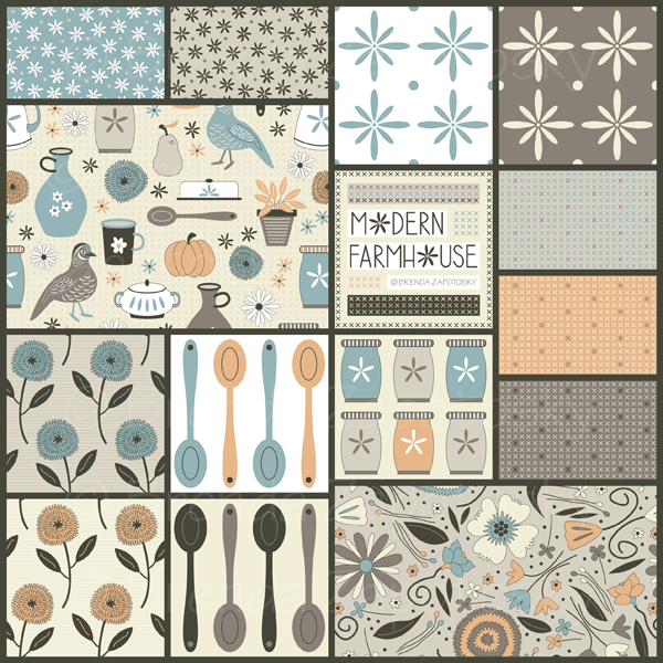 Modern Farmhouse Collection by Brenda Zapotosky Small WM