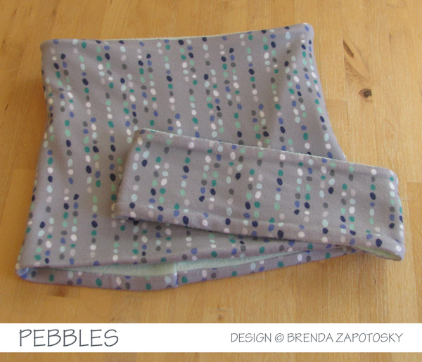 Pebbles Winter Set by Brenda Zapotosky