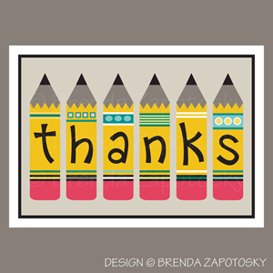 Pencil Thanks by Brenda Zapotosky Web Sm