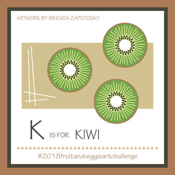K is for Kiwi by Brenda Zapotosky