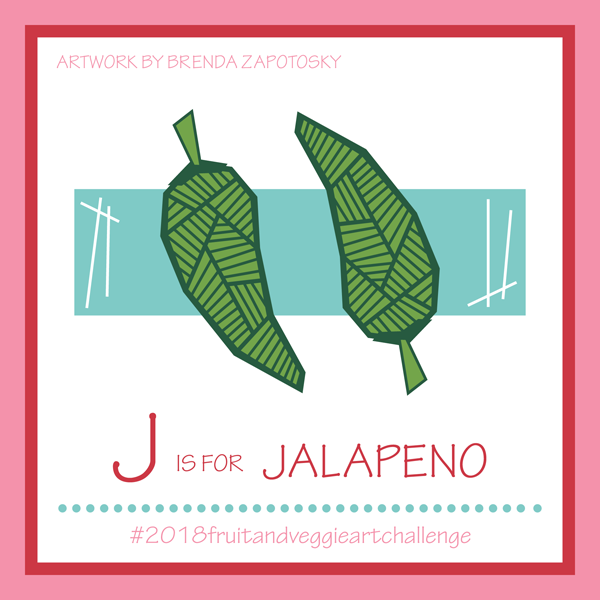 J is for Jalapeno by Brenda Zapotosky
