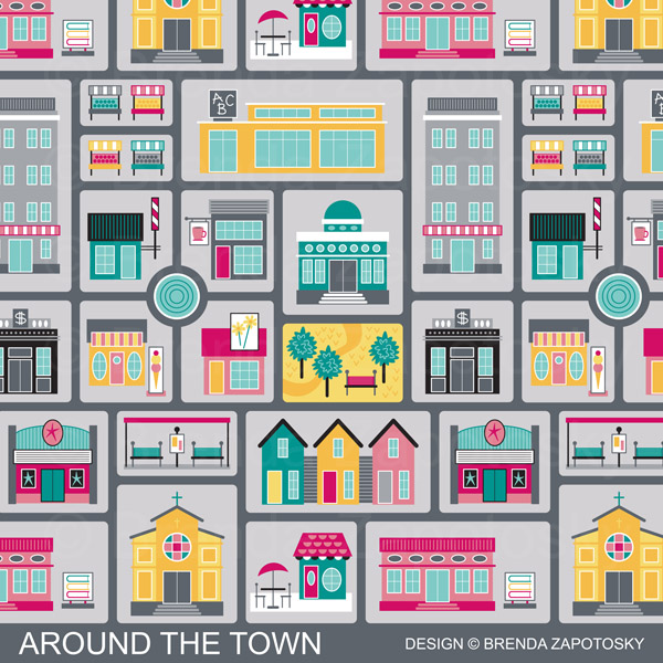 Around the Town Promo by Brenda Zapotosky