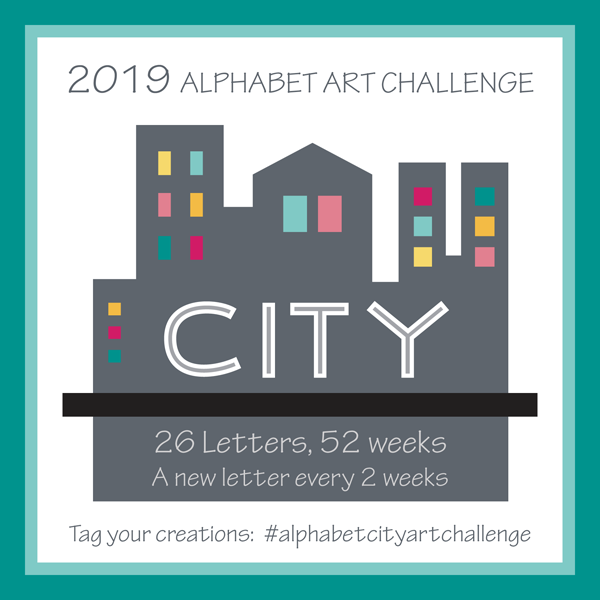 REVISED Alphabet City Art Challenge Title by Brenda Zapotosky