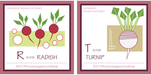 Radish and Turnip by Brenda Zapotosky