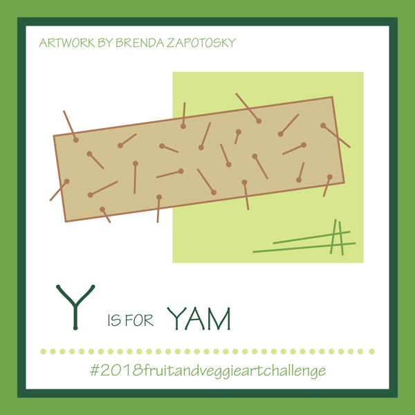 Y is for Yam by Brenda Zapotosky