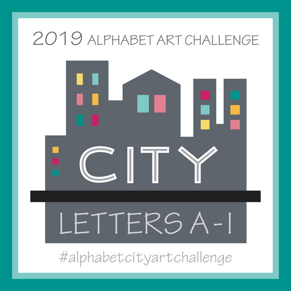 Alphabet City Art Challenge Blog Post A thru I