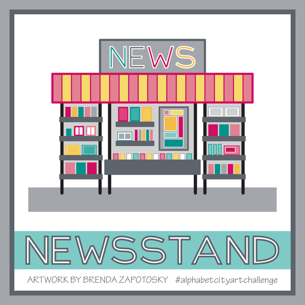 N is for Newsstand by Brenda Zapotosky