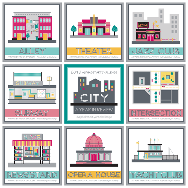 Alphabet City Art Challenge Final Review by Brenda Zapotosky