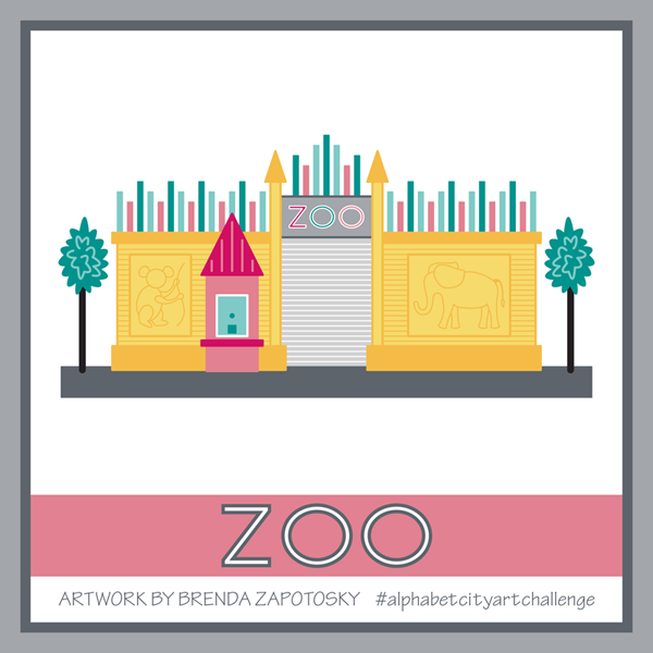 Z is for Zoo by Brenda Zapotosky