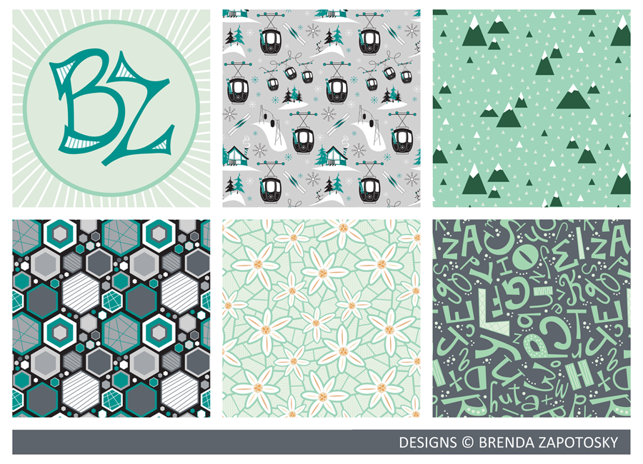Pattern Medley Designs by Brenda Zapotosky WEB